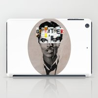 the godfather iPad Cases featuring Godfather Mix 1 white by Marko Köppe