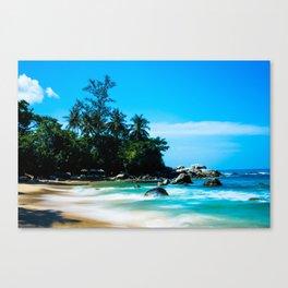 Leam Sing Beach Canvas Print