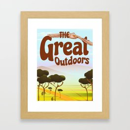 The Great Outdoors Framed Art Print