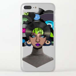 Old Look Rocks Clear iPhone Case