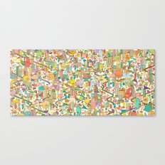 CREEPING ABOUT Canvas Print