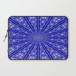 Chakra Mandala (lapis blue) Laptop Sleeve