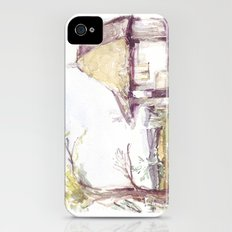 Romanian watercolor Slim Case iPhone (4, 4s)