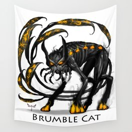 Brumble Cat Wall Tapestry