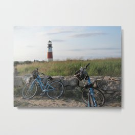 Sankaty Head Lighthouse Metal Print