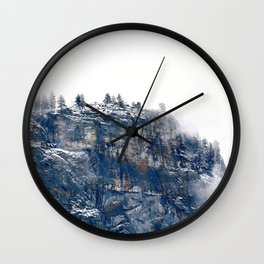 Destination Unknown Wall Clock