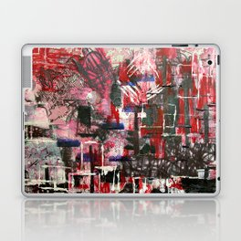 Red Cityscape Laptop & iPad Skin