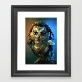 Owloki Framed Art Print
