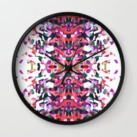 beethoven Wall Clocks featuring Beethoven abstraction by Laura Roode