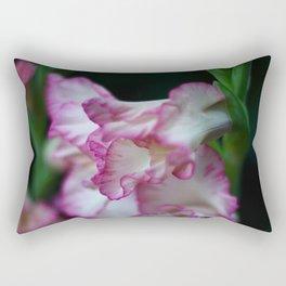 Blooms in the Night Rectangular Pillow