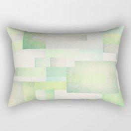 The Park, Geometric Art Rectangular Pillow