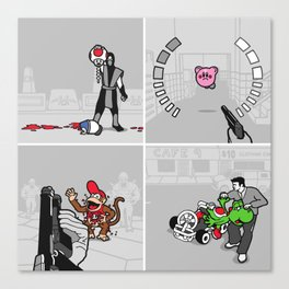 Good Guys In Bad Games Canvas Print