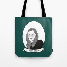 Margaret Hamilton Illustrated Portrait Tote Bag