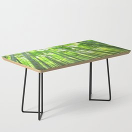 Bamboo Forest Illustration Coffee Table