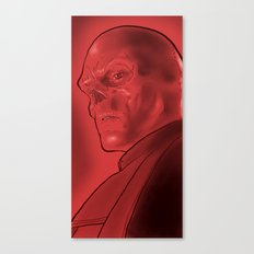 The Red Skull Canvas Print