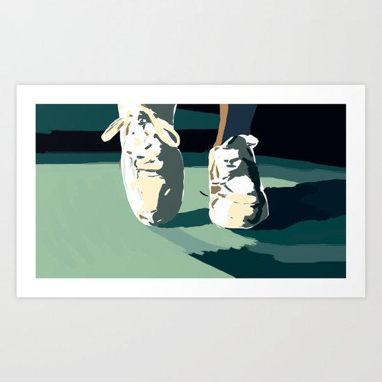 More Feet Art Print