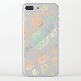 roses are of all colors Clear iPhone Case