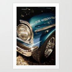 Chevy Nova SS - Part of the Vintage Car Series Art Print