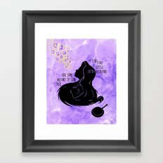 It Can Take a Little Extra Believing Framed Art Print