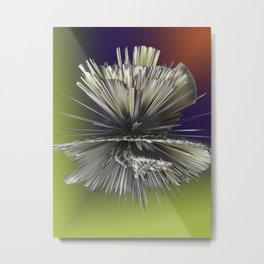 Colors Explosion Metal Print
