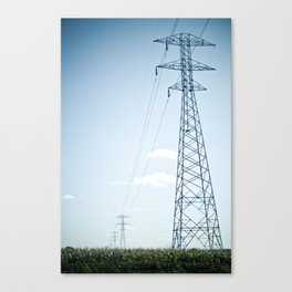 The Power Canvas Print
