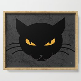 Evil Kitty Serving Tray