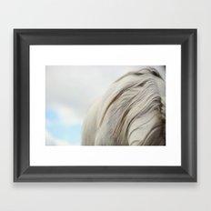 The White Mare Framed Art Print