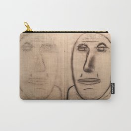 mirror of charcoal Carry-All Pouch