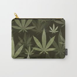Marijuana Cannabis Weed Pot Leaves Carry-All Pouch