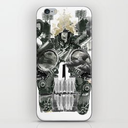 The end is death iPhone Skin