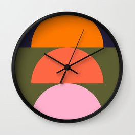 Spring- Pantone Warm color 03 Wall Clock