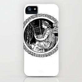 Singer iPhone Case