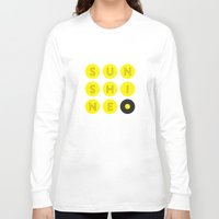 sunshine Long Sleeve T-shirts featuring Sunshine by KARNATARKA