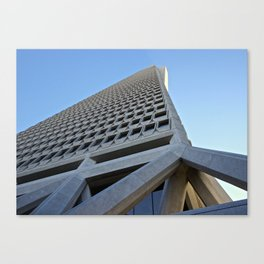 Transamerica Pyramid, San Francisco CA Canvas Print