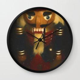 The Nutcracker Wall Clock