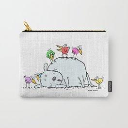 Sleeping with an Audience Carry-All Pouch