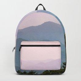 Smoky Mountain Pastel Sunset II Backpack