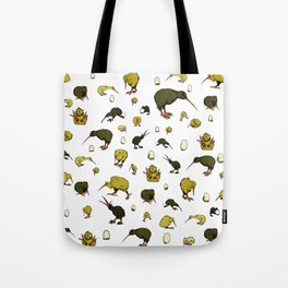 Kiwi Birds Tote Bag