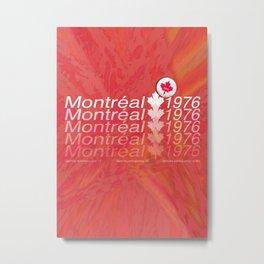 montreal 1976 Metal Print
