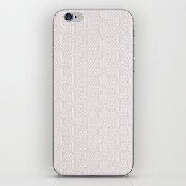 White texture iPhone Skin