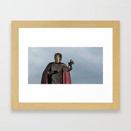 Erik Lensherr: Magneto III Framed Art Print