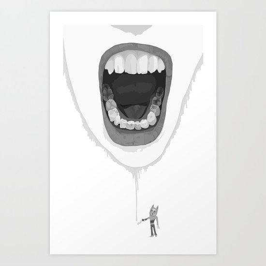 rargh! Art Print
