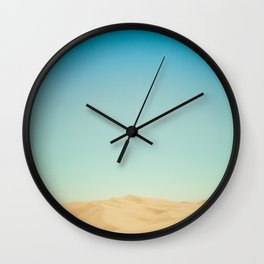 Sand Dunes of Glamis Wall Clock