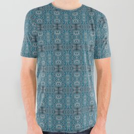 Blue Waters All Over Graphic Tee
