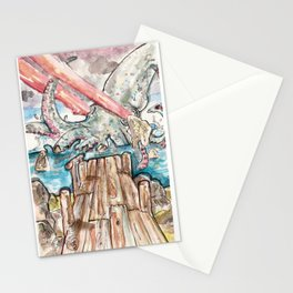 Laser Octopus Stationery Cards