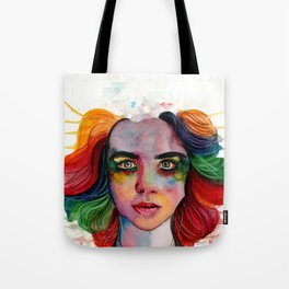 A Grieving Rainbow Tote Bag