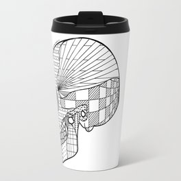 Tweny One Pilots Skull (REDUX) Travel Mug