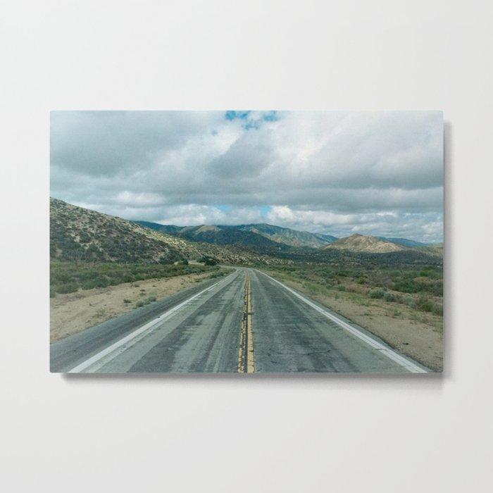 The Road to Los Angeles Metal Print