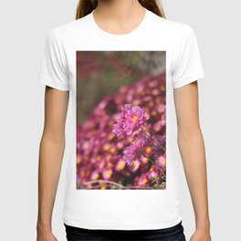 Colorful Pink Flowers T-shirt