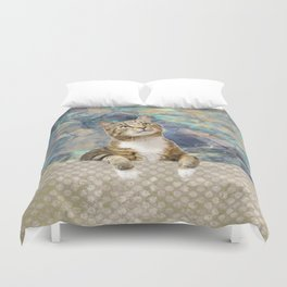 Soft Cat Duvet Cover